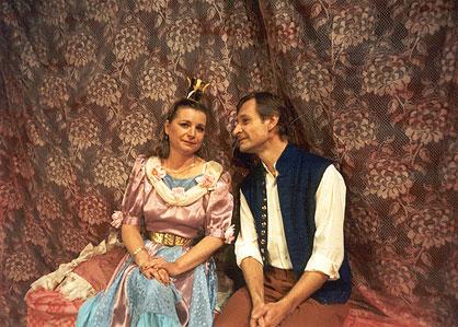 O Honzovi a princezně - Divadlo D Praha