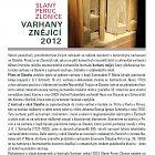 Varhany znějící 2012 Slaný–Peruc–Zlonice (úvodní text)