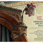Varhany znějící 2012 Slaný–Peruc–Zlonice (titulní strana CD)