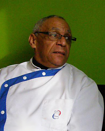 S žáky v ISŠ Slaný vaří šéfkuchař Roland Sepré