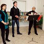 Kateřina Zímová, David Šarboch a Karol Hevessy