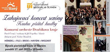Zahajovovací nové sezóny koncert KPH – pozvánka