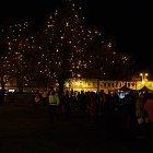 Slavnost světla. Rozsvícení vánočního stromu, 30. 11. 2012