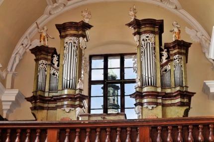 Varhany v kapli Zasnoubení P.Marie ve Slaném