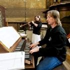 Pavel Marek a Lenka Harigelová (vzdušnicová šalmaj)
