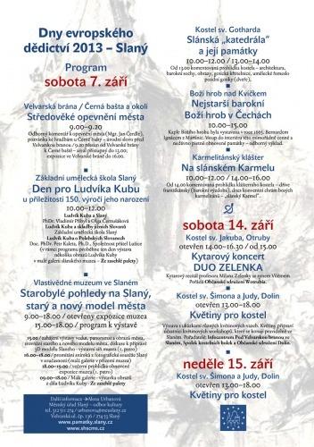 Program Dne památek