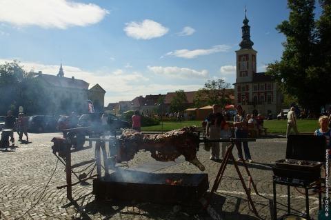 Rožnění uherského býka – Slaný 2012