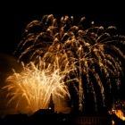 Novoroční ohňostroj 1. ledna 2014