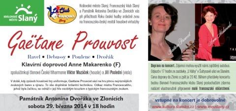 Francouzsko-český hudební večer ve Zlonicích