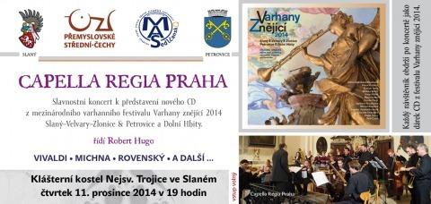 Pozvánka na slavnostní koncert – Capella Regia Praha