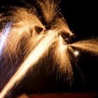 Tradiční novoroční ohňostroj 1. ledna 2015
