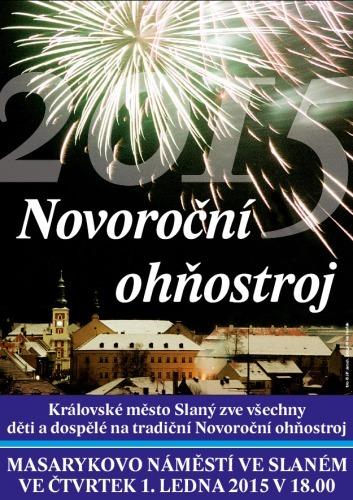 Novoroční ohňostroj 2015 – pozvánka