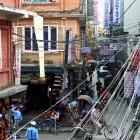 Elektroinstalace v Kathmandu,  Nepál 2004