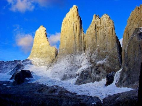 Věže v Torrés Del Paine, Chile 2006