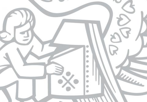 Detail slánského znaku