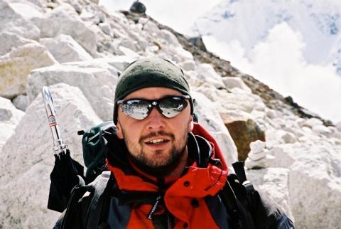 Jan (Tač) Kocáb (Himaláj 2004)