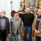 Jaroslav Krček (hudební režie), Tomáš Janeček (NIBIRU, producent), Karel Soukeník (mistr zvuku) a Ivo Horňák