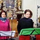 Ensemble Inégal – Gabriela Eibenová a Daniela Čermáková (zpěv)