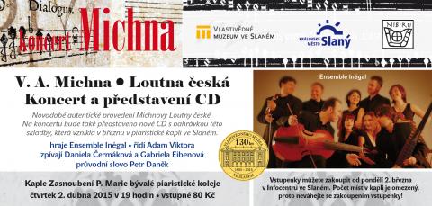 Pozvánka na koncert Loutny české a představení nového CD