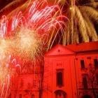 I na Nový rok 2016 se můžeme ve Slaném těšit na tradiční novoroční ohňostroj