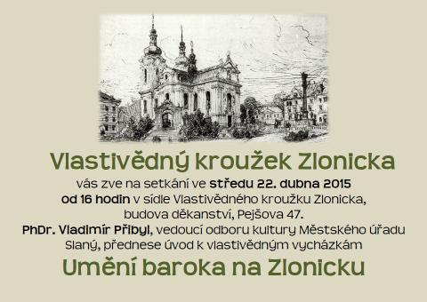 Umění baroka na Zlonicku: úvod k vlastivědným vycházkám