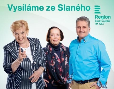 Český rozhlas Region na cestách – živé vysílání ze Slaného