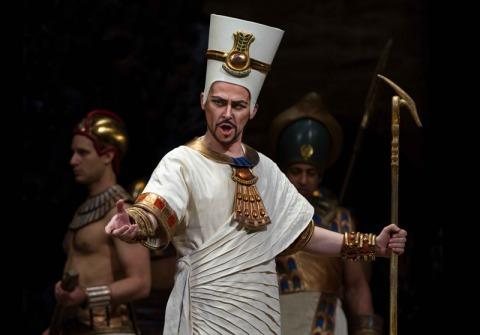 Verdiho Aida z Metropolitní opery v New Yorku