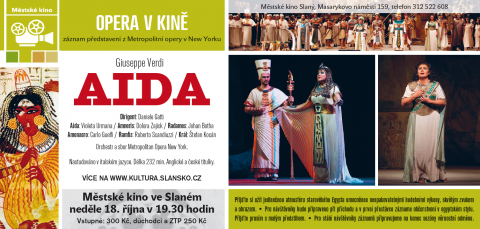 Aida - pozvánka