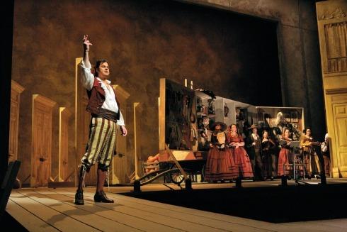 Opera ve slánském kině: Gioachino Rossini  – Lazebník sevillský