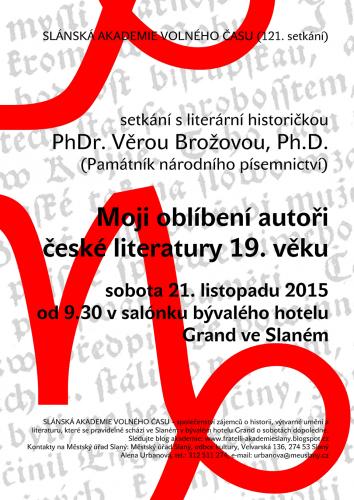 Moji oblíbení autoři české literatury 19. věku