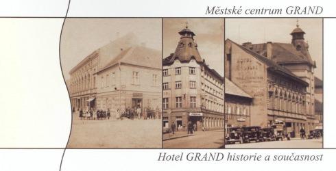 Historie Městského centra Grand ve Slaném
