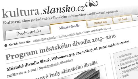 Novinky na stránkách kultura.slansko.cz