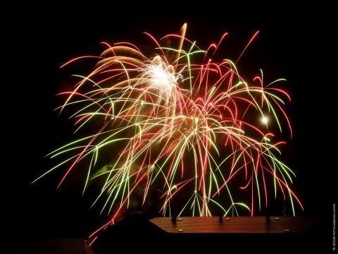 Novoroční ohňostroj ve Slaném k přivítání roku 2016  Pátek 1. ledna 2016 v 18 hodin na Masarykově náměstí ve Slaném