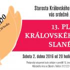 13. Ples Královského města Slaného – 2. dubna 2016