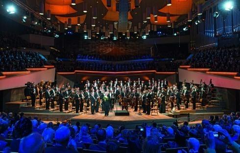 Berlinska-filharmonie