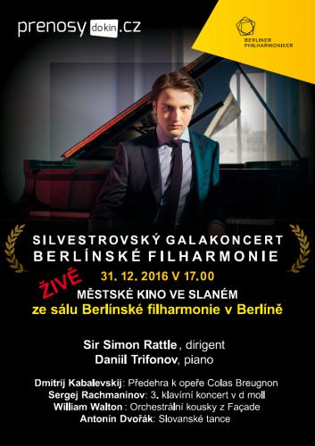 Silvestrovský koncert Berlínské filharmonie